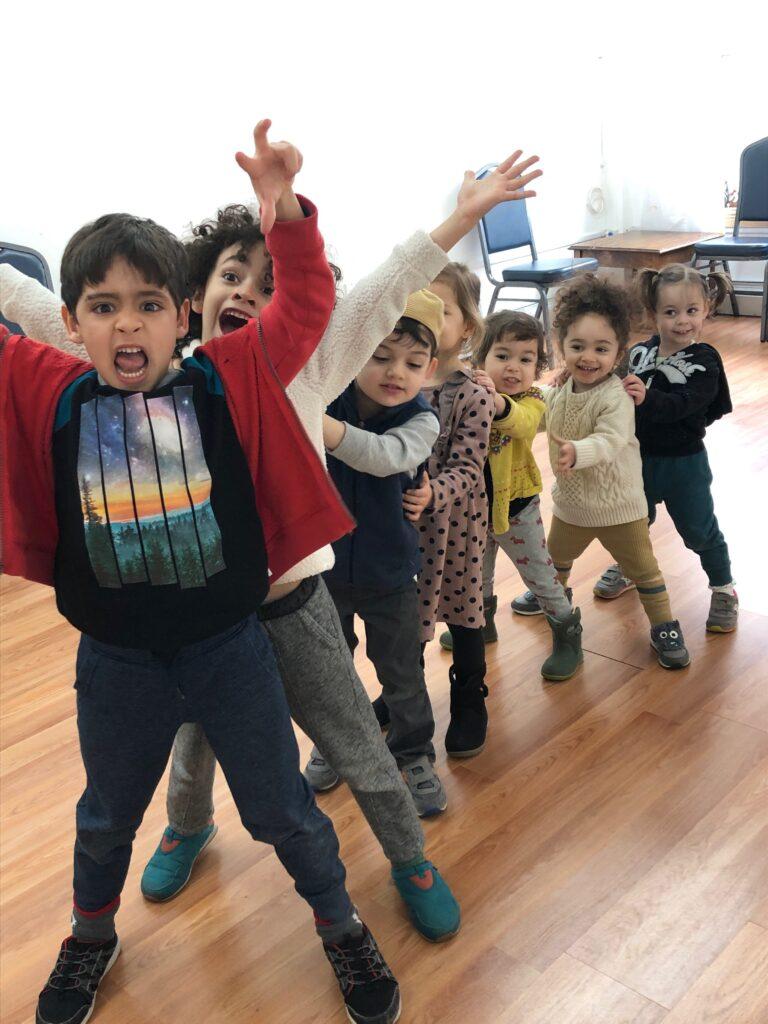 Bula Kids cheering